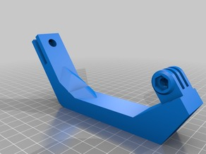 CR 10 GoPro bed arm.
