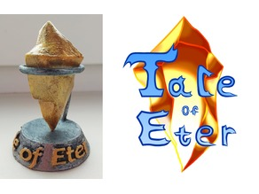 Tale of Eter crystal with stand
