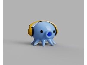 #3DTakoTuesday Headphones