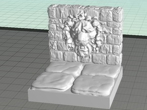 OpenForge Lion Wall