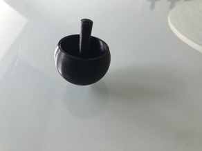 Tippe Top, 2 Parts, easy to print
