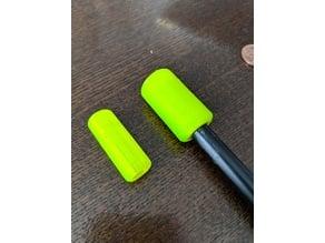 sword tip cap for graphite golf club