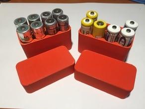 Box Battery AA x8pz V1