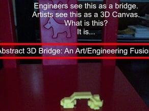 Abstract Bridge: An Art-Engineering Fusion