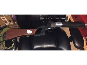 Boba Fett EE-3 carbine blaster rifle PLA version