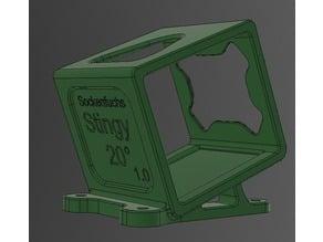 20deg Xhover Stingy GoPro Session mount TPU