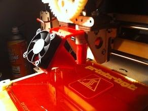Clip-on Printrbot 40-mm Fan Mount <Obsolete: See Derivative>