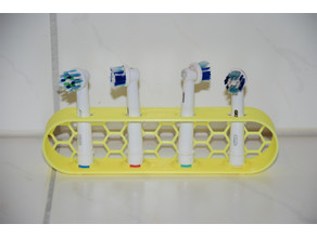 Customizable Oral-B Toothbrush Stand