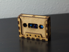 Cassette Tape Holder for SD Cards