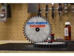 Multi-body Carbon Fiber Reinforced Gear