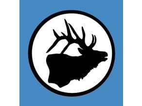 Elk Fridge Magnet