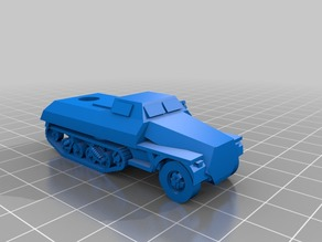 Improved maultier rocket launcher