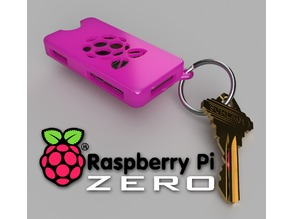 pi Zero keychain case