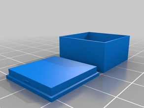 Customizable plain box with lid