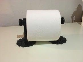 Flower toilet paper holder
