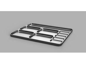screw tray 16x20x1