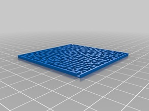 My Customized Random maze generator with base