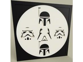 Boba Fett - Darth Vader - Stormtrooper