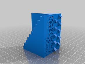 Temp Tower for Makerbot Clones