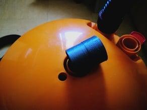 Bosch / triton bucket hose connector