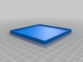 3 1/2 inch frag tile mold