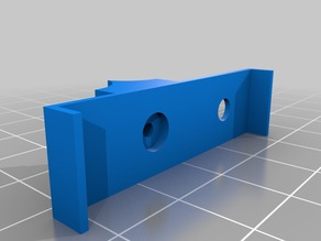 Filament guide for MK8 extruder