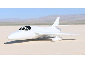 Hawker Hunter Scale Model