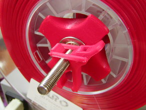 Spool Holder Locking Clamp