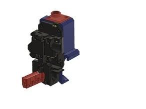 Zaribo X-carriage mod for Bondtech_Prusa_mod MK3S-MK2.5S new sensor