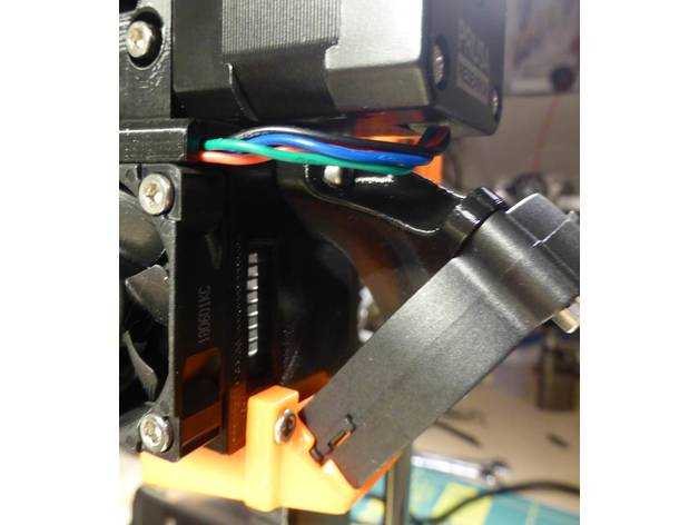 Prusa i3 MK3/MK2 5 R3 Nozzle Fan Holder by Area51 - Thingiverse