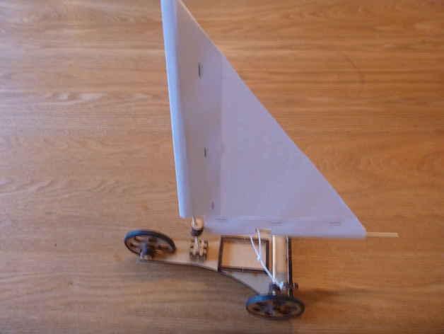 Laser cut land yacht by yngel thingiverse sciox Gallery