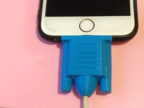 iPhone cable protector!