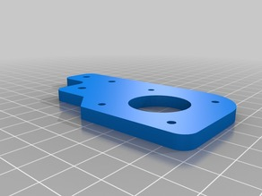 HE3D EI3 Y axis rear plate