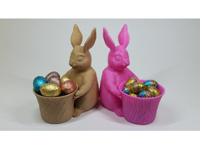 Easter Bunny Toy/Pot/Planter