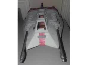 Star Wars T-47 Airspeeder/Snowspeeder.