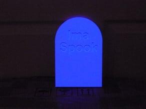 Ima Spook tombstone