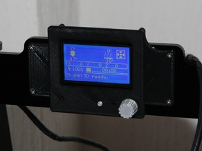 Anet A8 - RepRapDiscount Full Graphic LCD Holder