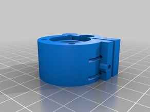 1.75 mm hinged kossel extruder