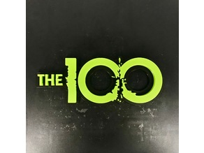 The 100 Tv Show Logo