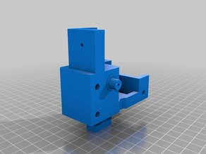 EZ3D  X axis block with extra adjustable bearing (Left side)