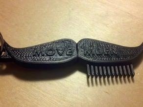 Movember Comb