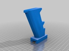 Optimised Nerf AR-15 Pistol Grip