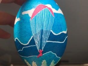 Paraglider Egg for Eggbot