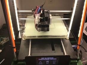 Wanhao I3 Plus/Maker Select Plus Titan Aero mount