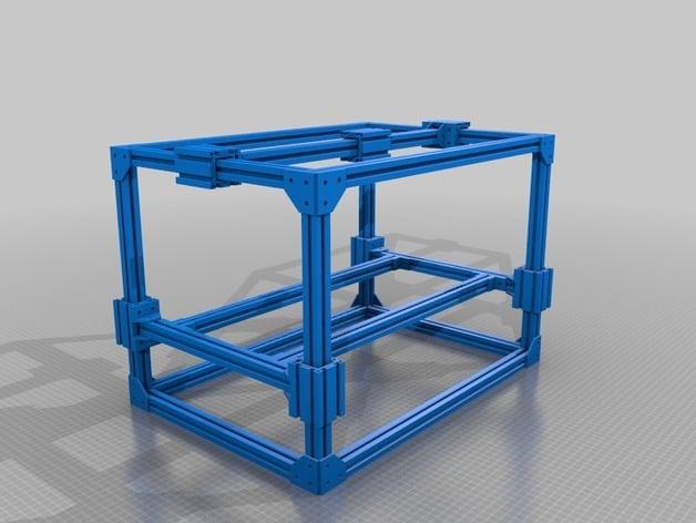 3d printer frame by saleem145 thingiverse