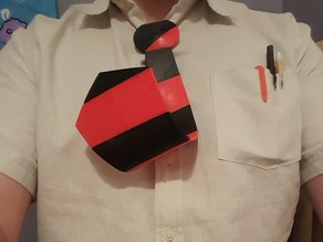 Dilbert Tie and Glasses