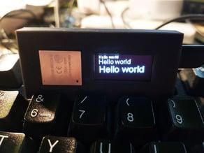 Wemos Lolin 32 OLED Box