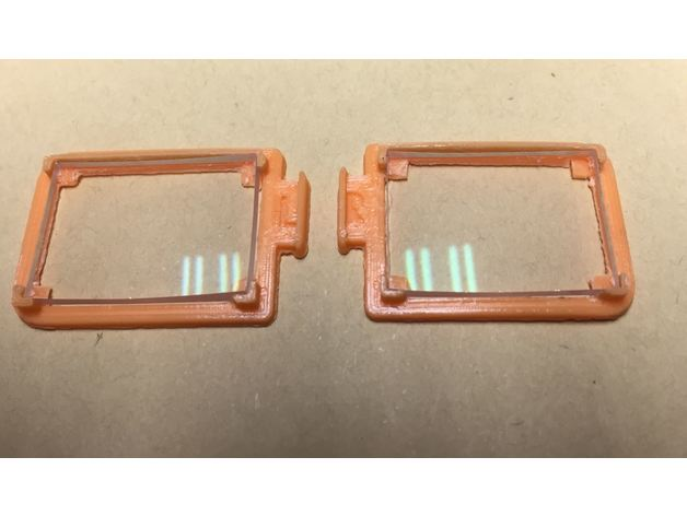 45186dc1297 Fatshark Diopter Frames for RHO-Lens by pathfinderzero - Thingiverse