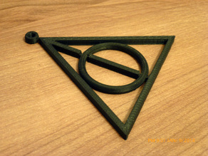 Deathly Hallows - Spinning ring