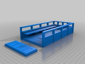 XL bed for custom WPL 6x6